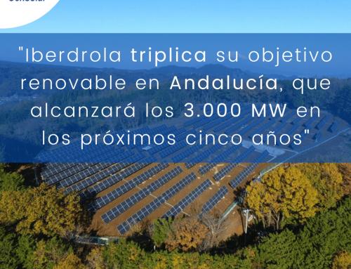 Noticias España: «Iberdrola triplica su objetivo renovable en Andalucía, que alcanzará los 3.000 MW en los próximos cinco años»