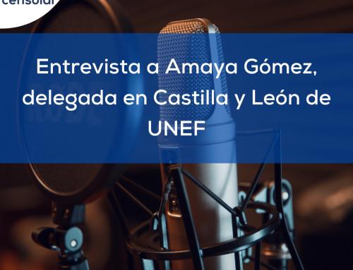 Noticias España: «Entrevista a Amaya Gómez, delegada en Castilla y León de UNEF»