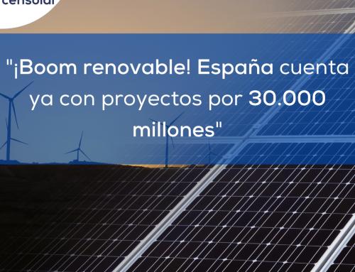 Noticias España: «¡Boom renovable! España cuenta ya con proyectos por 30.000 millones»