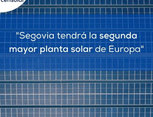 Noticias España: «Segovia tendrá la segunda mayor planta solar de Europa»