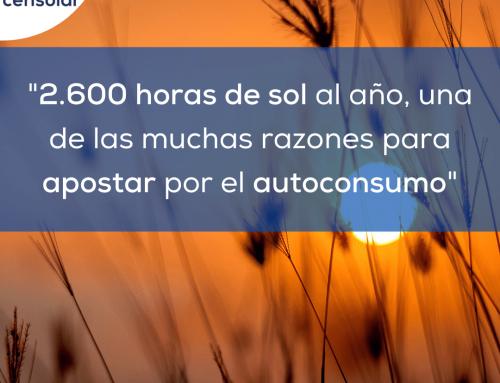 Noticias España: «2.600 horas de sol al año, una de las muchas razones para apostar por el autoconsumo»