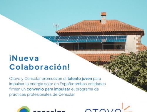 Otovo y Censolar promueven el talento joven para impulsar la energía solar en España