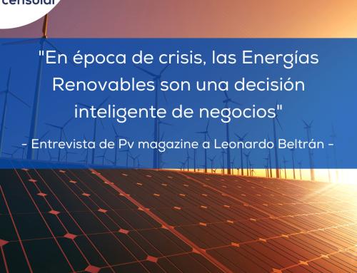 Noticias LATAM: «En época de crisis, las Energías Renovables son una decisión inteligente de negocios» Entrevista de Pv magazine a Leonardo Beltrán