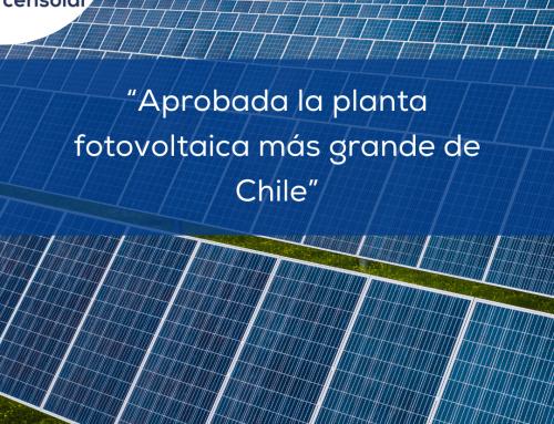 """Noticias LATAM: """"Aprobada la planta fotovoltaica más grande de Chile"""""""