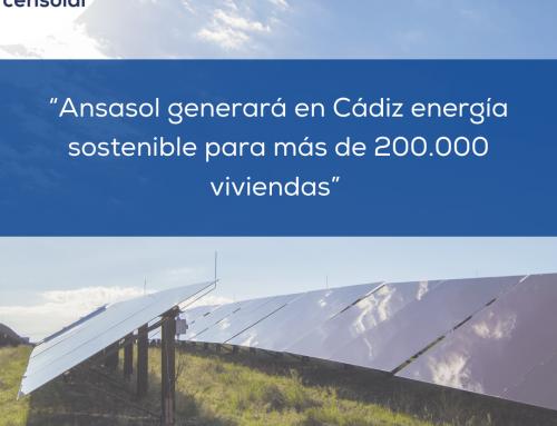 """Noticias España: """"Ansasol generará en Cádiz energía sostenible para más de 200.000 viviendas"""""""