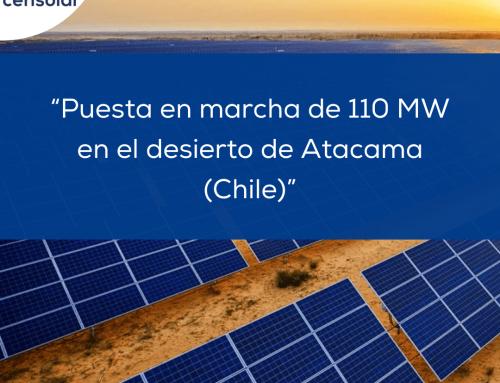 """Noticias LATAM: """"Puesta en marcha de 110 MW en el desierto de Atacama, Chile"""""""
