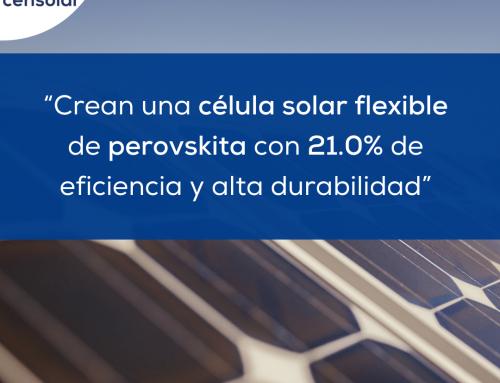 """Noticias LATAM: """"Crean una célula solar flexible basada en perovskita con 21.0% de eficiencia y alta durabilidad"""""""
