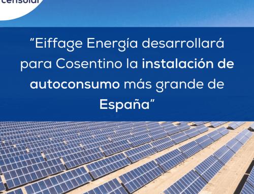 """Noticias España: """"Eiffage Energía desarrollará para Cosentino la instalación de autoconsumo más grande de España"""""""