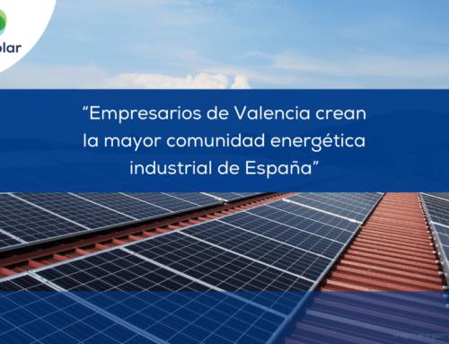 """Noticias España: """"Empresarios de Valencia crean la mayor comunidad energética industrial de España"""""""