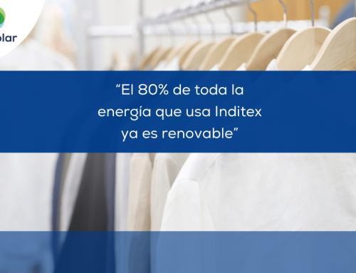 Noticias España: «El 80% de la energía que usa Inditex ya es renovable»
