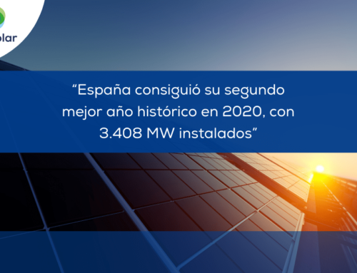 """Noticias España: """"España consiguió su segundo mejor año histórico en 2020, con 3.408 MW instalados"""""""