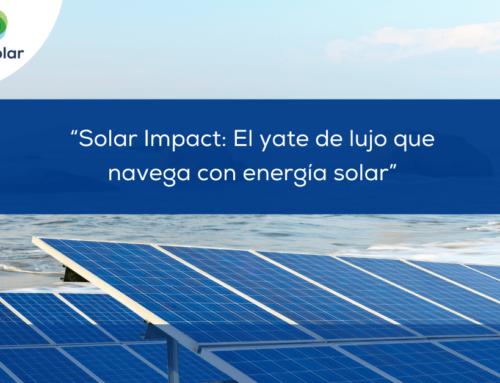 """Noticias España: """"Solar Impact: El yate de lujo que navega con energía solar"""""""