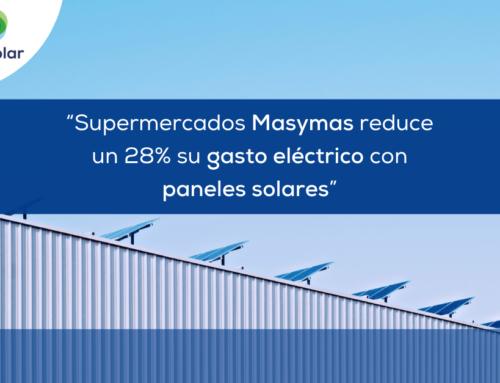 """Noticias España: """"Supermercados Masymas reduce un 28% su gasto eléctrico con paneles solares"""""""