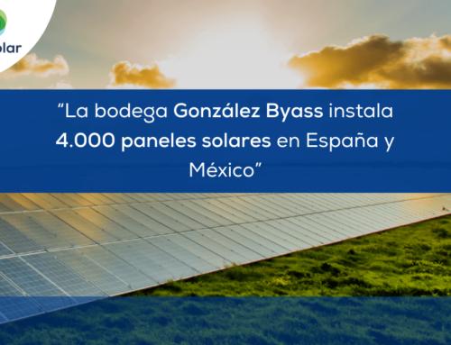 "Noticias España: ""La bodega González Byass instala 4.000 paneles en 10 parques solares en España y México"""